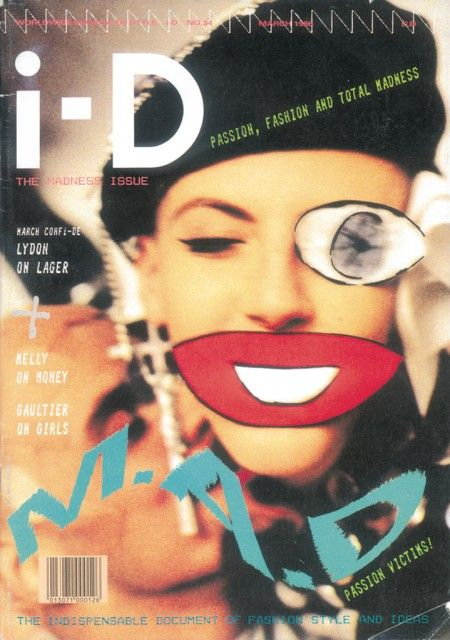 034. The Madness Issue March 1986    Scarlett  Photography by Mark Lebon  Styling by Judy Blame