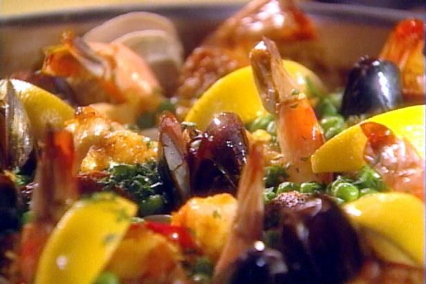Get Paella Recipe from Food Network