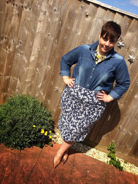 Mrs BeBe Blog: Style: Super Separates with Scarlett and Jo #plussize #fashion #blog