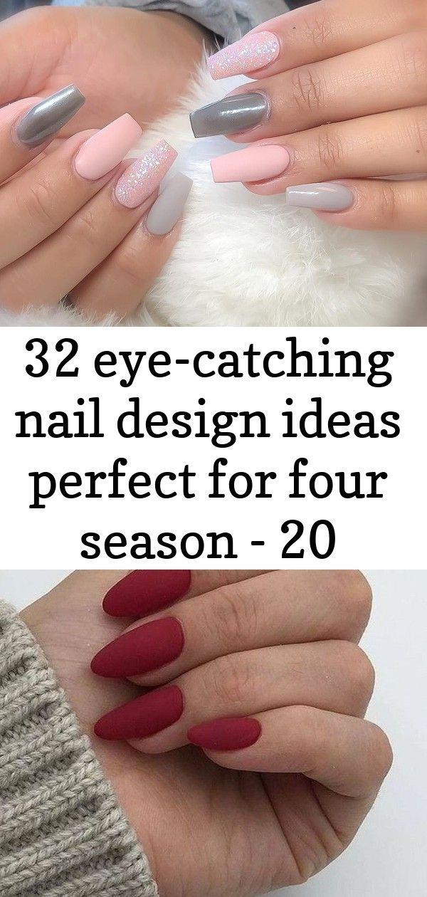 32 Eye Catching Nail Design Ideas Perfect For Four Season 20 Nail Designs Nails Plaid Nails