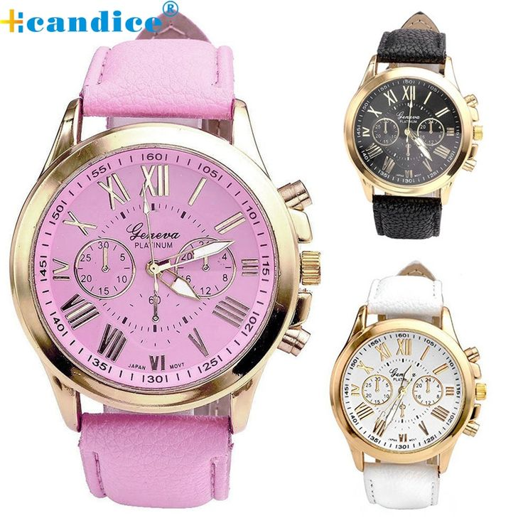 Fabulous New Women's Fashion Roman Numerals Faux Leather Analog Quartz Wrist Watch relojes mujer 2016 SEP01 #>=#>=#>=#>=#> Click on the pin to check out discount price, color, size, shipping, etc. Save and like it!