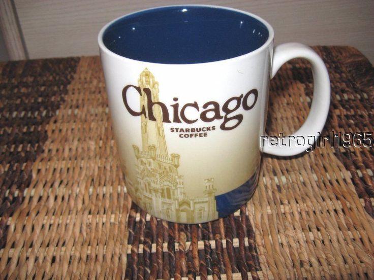 Starbucks CHICAGO Collectors Series   2008 16oz NEW #STARBUCKS
