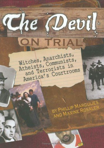 "Featuring five famous trials, this book examines the way our right to a fair trial can be threatened, when people are tempted to abandon their principles in the name of safety. Trials included are the Salem Witch Trials, the Haymarket Affair Trial, the Scopes ""Monkey"" Trial, the trial of Alger Hiss, and the trial of Zacarias Moussaoui—the latter not yet covered extensively in any book."