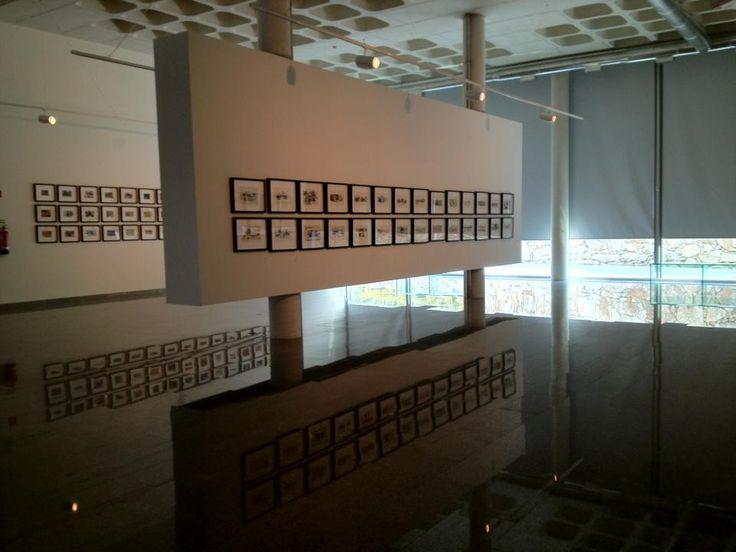 Exposição Sequenzas  de Nadir Afonso. Curadoria de Fátima Lambert