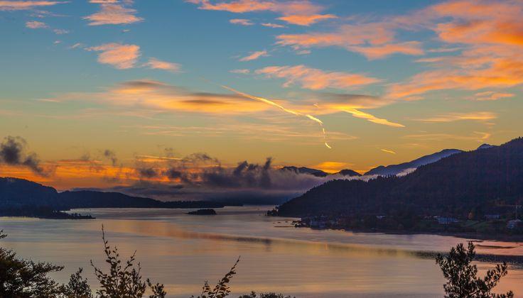 Sonnenuntergang am Wörthersee! (c) woerthersee.com, Steinthaler Gert