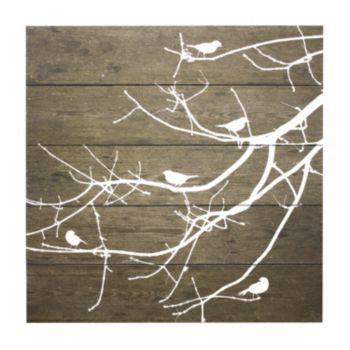 fetco home decor salema birds on branches wall art. Black Bedroom Furniture Sets. Home Design Ideas