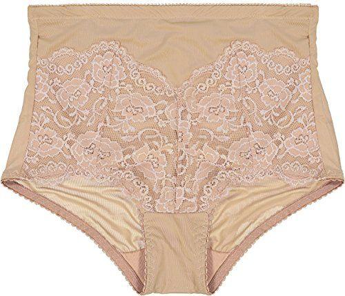 f3eaa75ba139 Marika Women's Shaper Brief Underwear Tummy Control With Elegant Lace