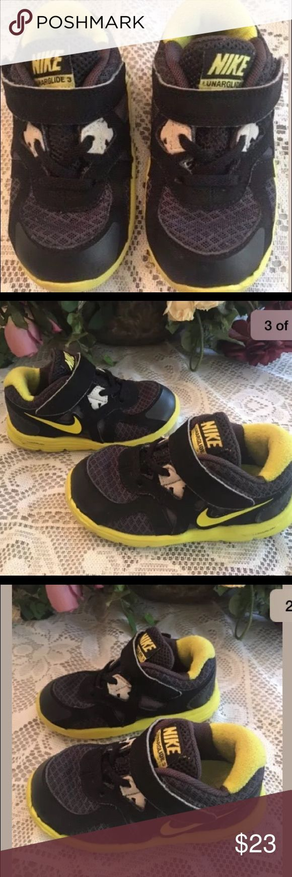 Nike Lunarglide 3 Toddler #sneakers Size 7C A really cute pair of Nike Lunarglide 3 size 7C sneakers in great condition.  Please see photos for details. Nike Shoes Sneakers
