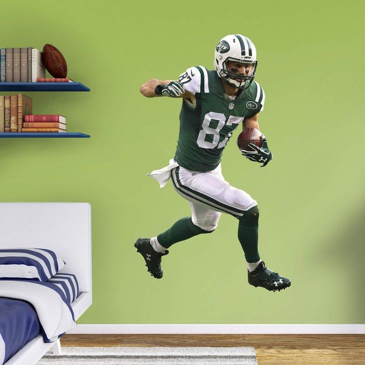 Fathead NFL New York Jets Eric Decker Home Wall Decal   12 21608 Pictures Gallery