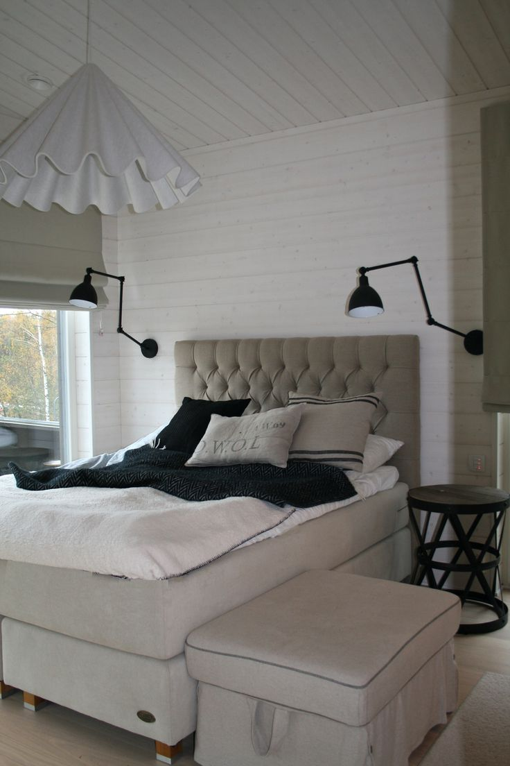 Summerhouse. Bedroom with Englesson's and Artwood's furnitures