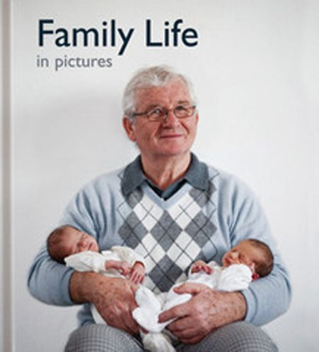 'Family Life in Pictures' takes a look at the traditional family. Children, parents, grand parents, 'tipsy' uncles and even the family dog are depicted. There are weddings, family meals, celebrations, picnics, church services, holidays and quiet time spent at home reading or in front of the TV.