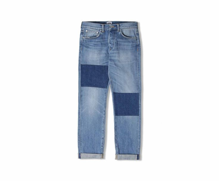 ED-80 Slim Tapered Jeans 63 Rainbow Selvage Denim - Light Shield Wash