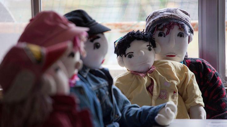 Muñecas del pueblo de Nagoro