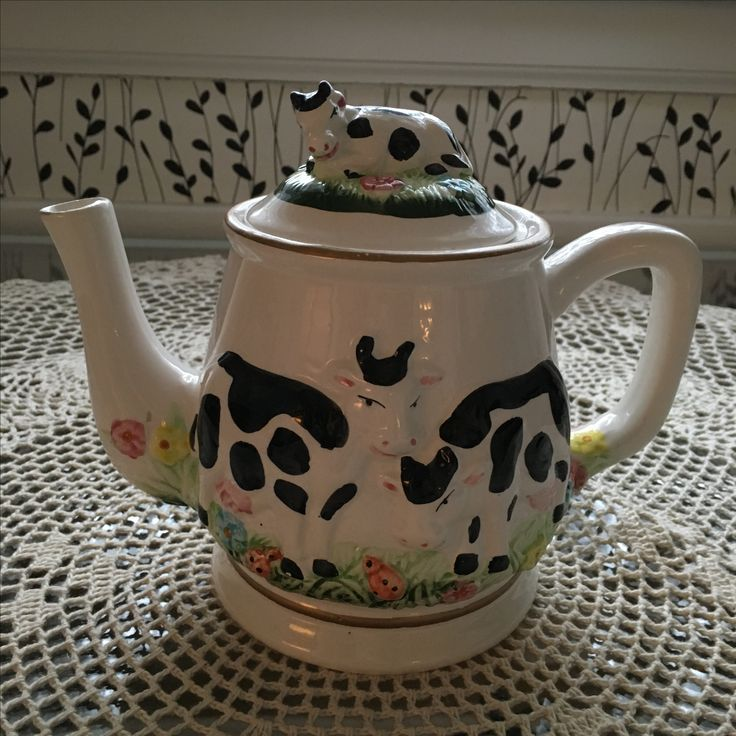 Milk Cow Tea Pot available for sale ONLY US$9.00.