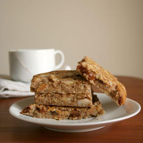 gluten free banana nut bars | Pleasures of Cooking_saldie | Pinterest