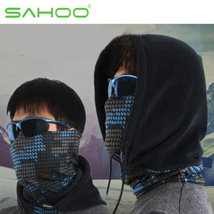 Sahoo многофункциональный полярные шапочки на открытом воздухе мотоспорт Skullies балаклавы лыжи велоспорт зимние шапки шапки маска шарф 468