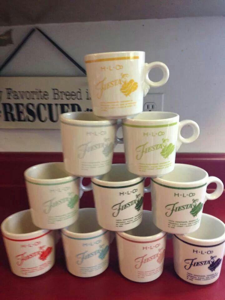 D❤️Fiesta Ware mugs & 130 best Fiesta® / Homer Laughlin China: Dancing Lady images on ...