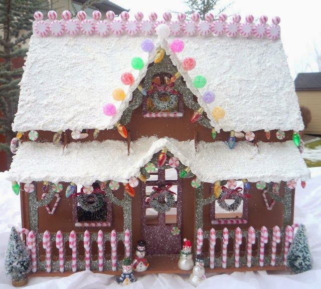 House of paint 100 adorable gingerbread house ideas