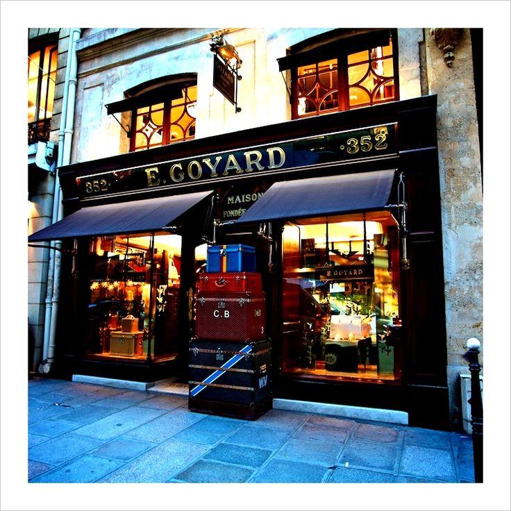 Maison E. Goyard, Paris
