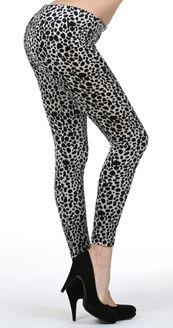 PREORDER Velvet Leopard Leggings
