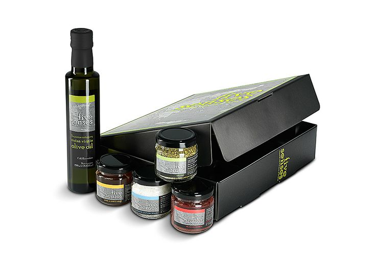 Premium packaging gift box Flavours of Greece
