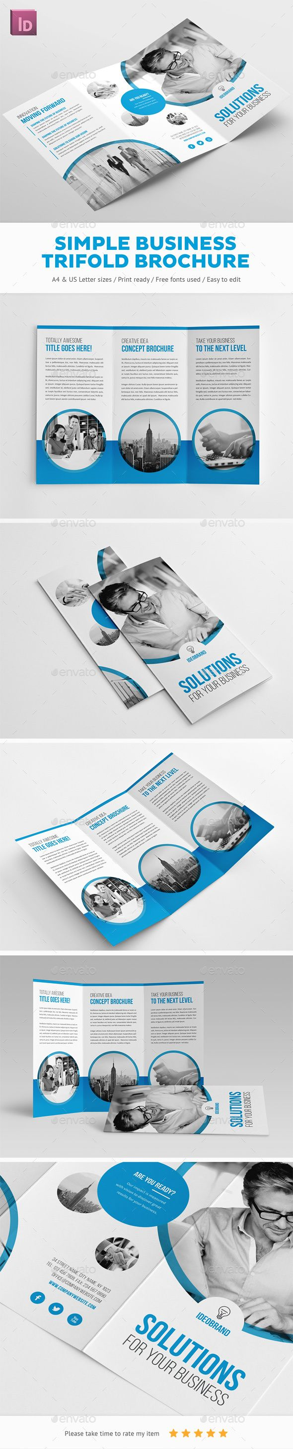 create a brochure for free