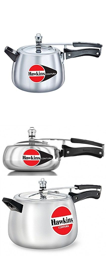 ORIGINAL HAWKINS CONTURA 3.5 LITRE ALUMINIUM PRESSURE COOKER WITH DHL SHIPPING 4-5 DAYS DELIVERY