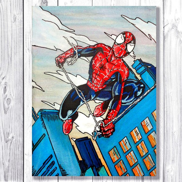 25+ Unique Superhero Canvas Ideas On Pinterest