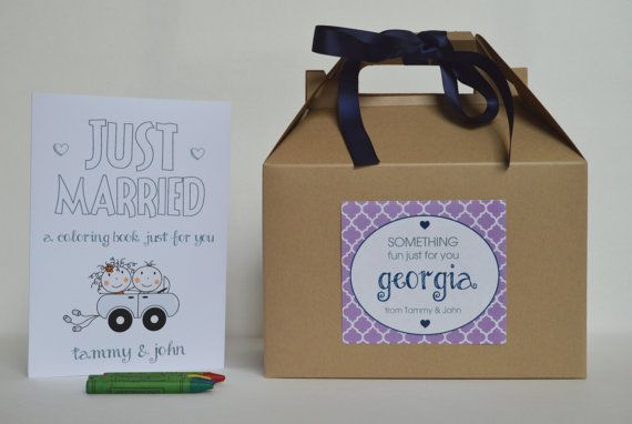 Personalized Kids wedding activity box / by ClaudiaCurtiDesigns