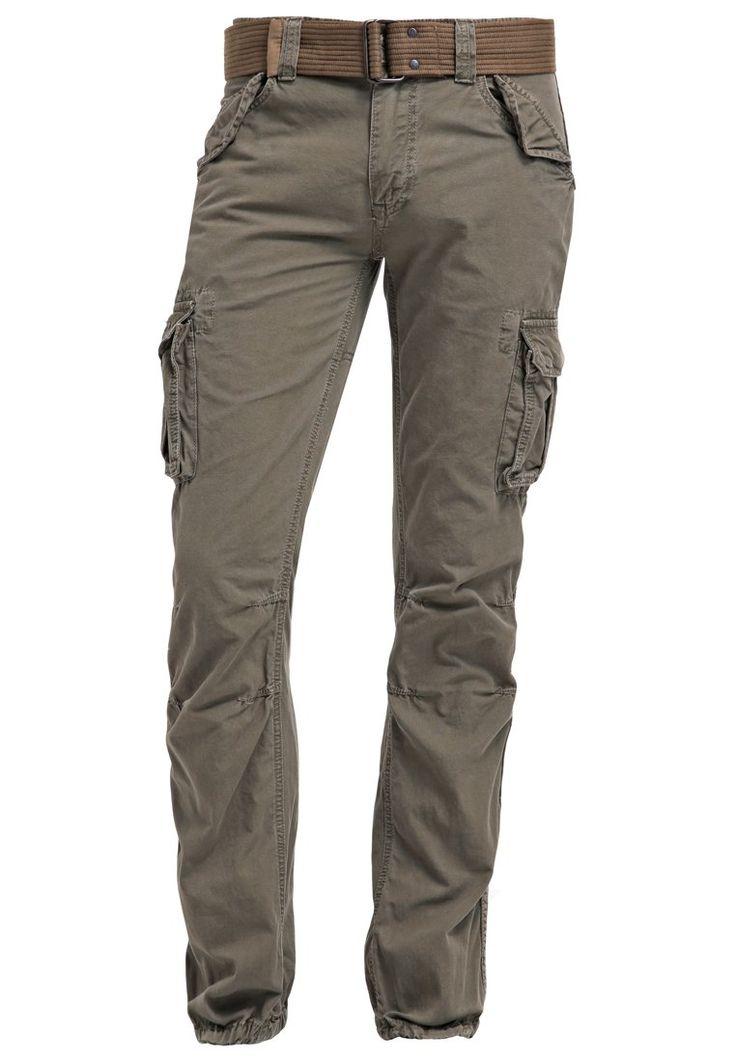 Schott NYC Pantalon cargo olive prix Pantalon Homme Zalando 100.00 €