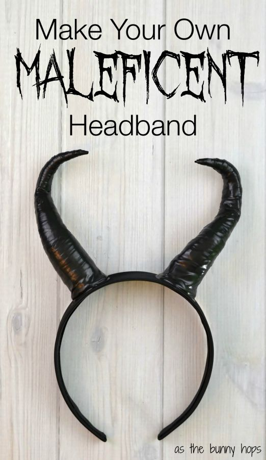 Make your own Maleficent headband in less than an hour with just a few easy to find supplies. You might have what you need already at home!                                                                                                                                                                                 More