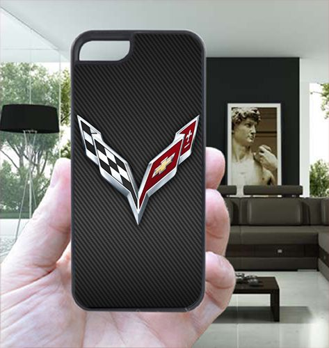 C7 Emblem Carbon For iPhone 5s Case