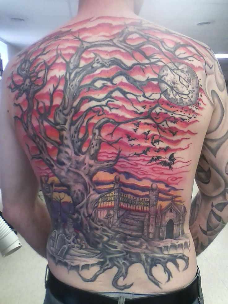 1000 ideas about graveyard tattoo on pinterest skull tattoos cemetery and haunted graveyard. Black Bedroom Furniture Sets. Home Design Ideas