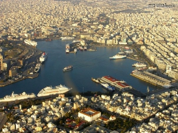 Piraeus Port Greece