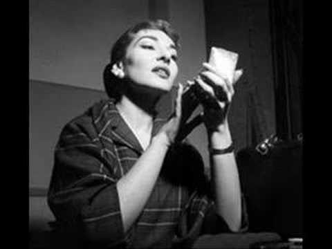 Maria Callas Bohème: Si, mi chiamano Mimì...