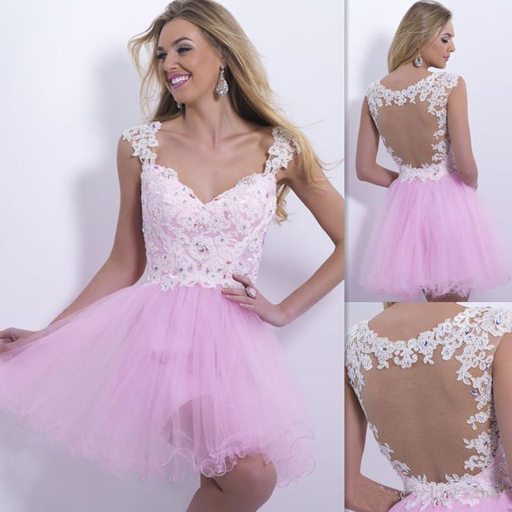 Pink And White Cocktail Dresses 2017 Cheap - Cocktail Dresses 100