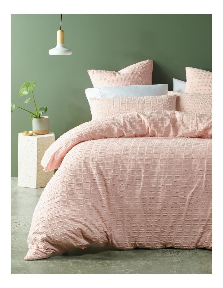 Pink Green And Gold Natural Bedroom Ideas Pink Quilt Cover Set By
