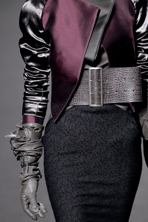 muffinsandcouture:  Details, Haider Ackermann Fall 2011 RTW Collection