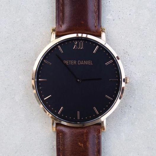 Genesis - Black and Brown Leather