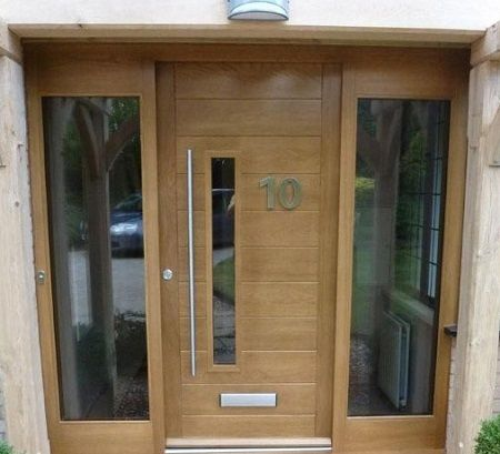 Best 20 front door design ideas on pinterest modern for Oak front doors