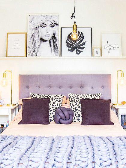 123 besten Schlafzimmer Bilder auf Pinterest Deko ideen - ideen fur effektvolle schlafzimmer wandgestaltung