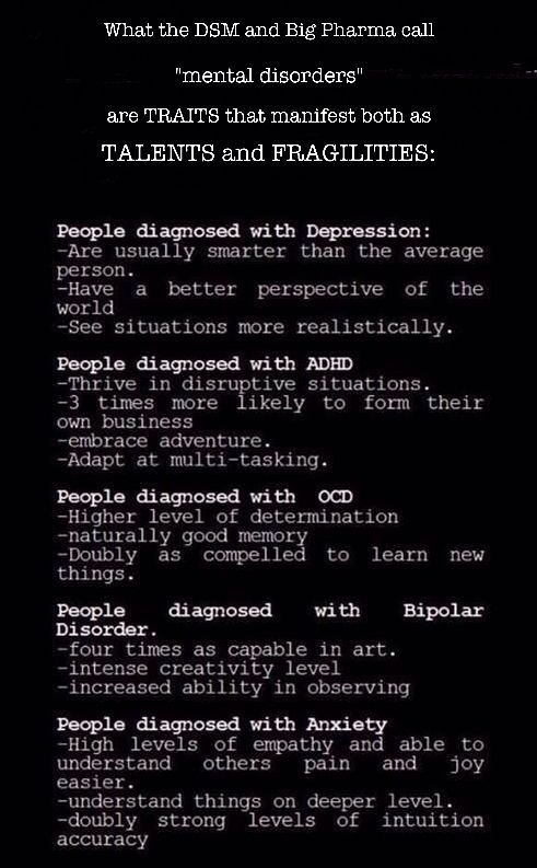 I really love this! Let's look at the positivity of the disease instead of all of the bad symptoms!