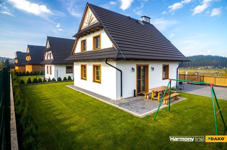 Mały domek wykończony w wielkim stylu