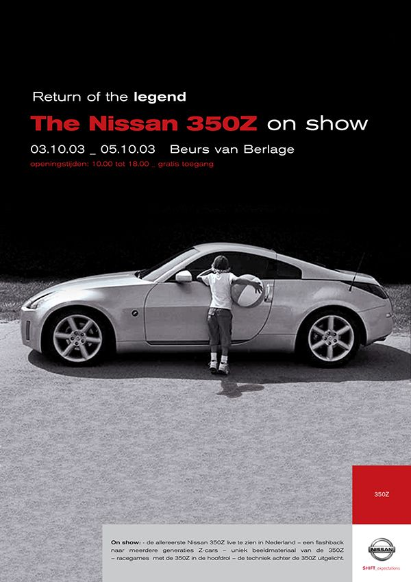 Nissan - 350Z Experience on Behance
