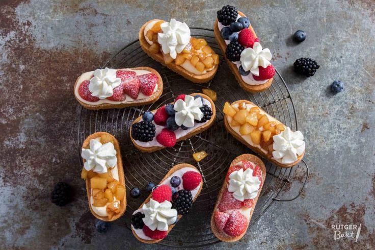 Drie verschillende soorten mini-slofjes – recept - Rutger Bakt