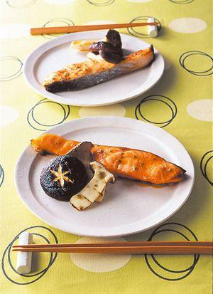 鮭のゆずこしょう焼き