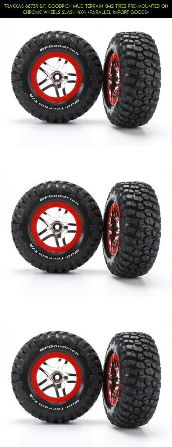 Traxxas 6873R B.F. Goodrich Mud Terrain KM2 Tires Pre-Mounted on Chrome Wheels Slash 4x4 [parallel import goods] #racing #camera #technology #gadgets #4 #plans #drone #products #shopping #tech #traxxas #kit #slash #tires #fpv #parts