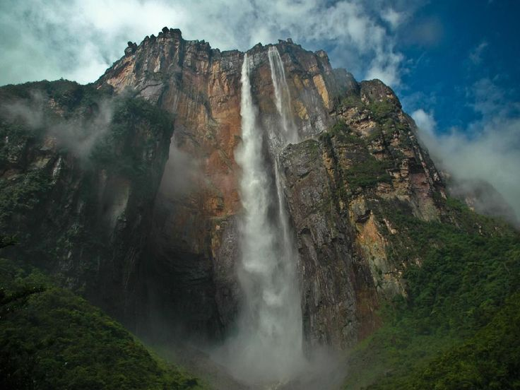 angel falls, venezuelaWater, Places To Visit, Buckets Lists, South America, Venezuela, Niagara Fall, National Parks, Angels Fall, Paradis Fall