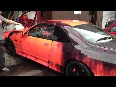 Heat-Sensitive Car Paint