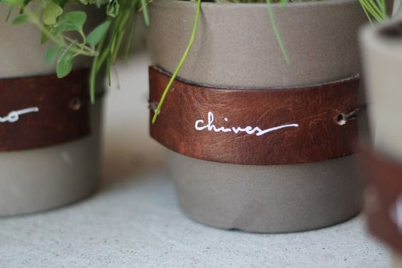 13 DIY Ways to Use Leather in your Home » Curbly | DIY Design Community
